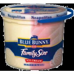 Photo of Blue Bunny Neapolitan Ice Cream