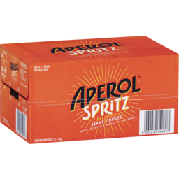 Photo of Aperol Spritz Ready To Sip 9% 175ml 24 Pack