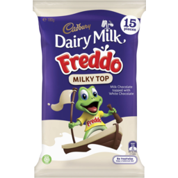 Photo of Cadbury Dairy Milk Cadbury Freddo Milky Top Sharepack 180g 180g