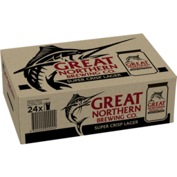Photo of Great Northern Super Crisp Can 375ml 24 Pack