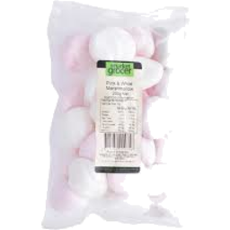 Photo of The Market Grocer Pink & White Marshmallow 200g
