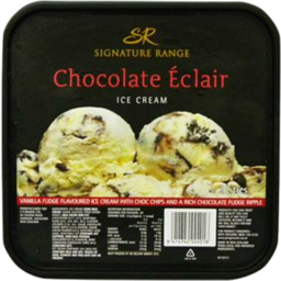 Photo of Woolworths Ice Cream Chocolate Eclair 2L