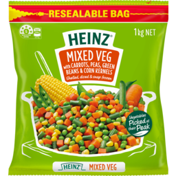 Photo of Heinz Mixed Vegetables 1kg