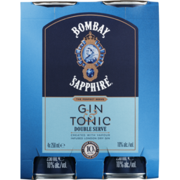 Photo of Bombay Gin Sapphire & Tonic Can