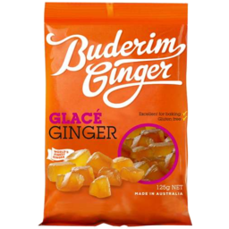 Photo of Buderim Glace Ginger 125gm