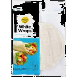 Photo of Value White Wraps 360g