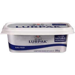 Photo of Lurpak Slightly Salted Spreadable Danish Butter 250g