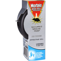 Photo of Mortein Mice Kill Secured Mouse Trap 1 Pack