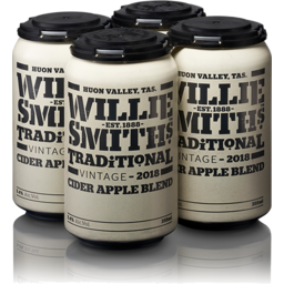 Photo of Willie Smith Trad Cider 4x355ml