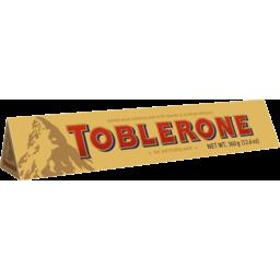 Photo of Toblerone Milk Chocolate Bar 360g