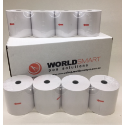 Photo of Rolls Paper Thermal Receipt Box Of 24 80x80premium