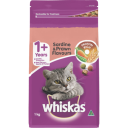 Photo of Whiskas With Vita Bites Sardine Prawn Tuna & Whitebait Flavour 1kg