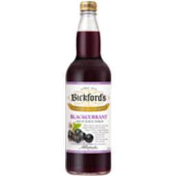 Photo of Bickfords Syrup Blackcurrant 750ml