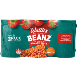 Photo of Watties Baked Beans In Tomato Sauce 3 Pack