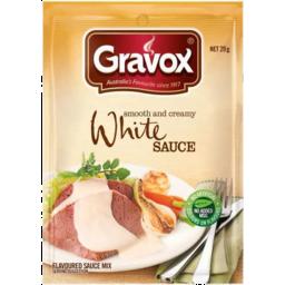 Photo of Gravox Sce Sac White 29gm