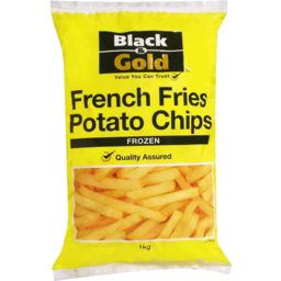 Photo of Black & Gold French Fries Potato Chips 1kg