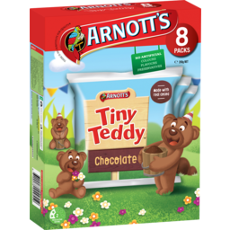Photo of Arnott's Tiny Teddy Chocolate 8 Pack 200g