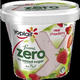 Photo of Yoplait Forme Zero Strawberry 1kg