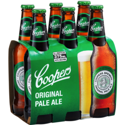 Photo of Coopers Pale Ale Bottles 6x375ml