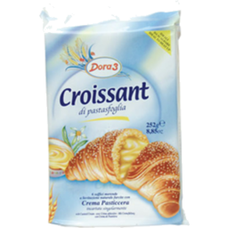 Photo of Eurobisc Bigusto Crema Croissant 252gm