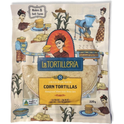Photo of La Tortilleria Corn Tortillas (8 Pack)