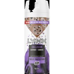 Photo of Lynx Antiperspirant Aerosol Collision Leather + Cookies 165 Ml