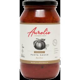 Photo of Aurelio Basilico Pasta Sauce 500g