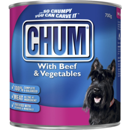 Photo of Chum Beef And Vegetables 700g