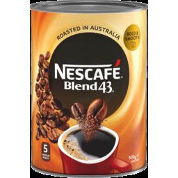 Photo of Nescafe Blend 43 500g