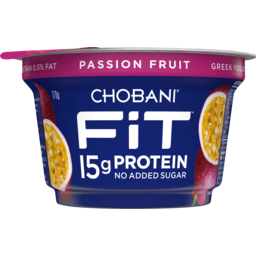 Photo of Chobani Fit Passionfruit Greek Yogurt 170g