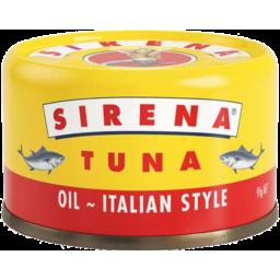 Photo of Sirena Tuna in Oil Italian Style 95gm