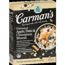 Photo of Carmans Muesli Apple/Date/Cinnamon 500g
