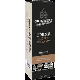 Photo of Grinders Crema Coffee Capsules 10 Pack X 80g