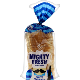 Photo of Mighty Fresh Bread White Toast 600g