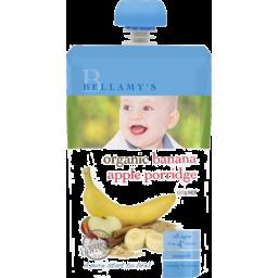 Photo of Bellamy's Organic Banana Apple Porridge 120g