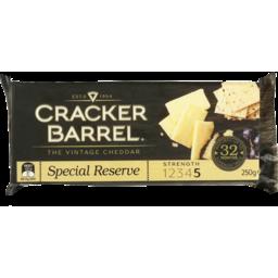Photo of Cracker Barrel Special Reserve Block 250g