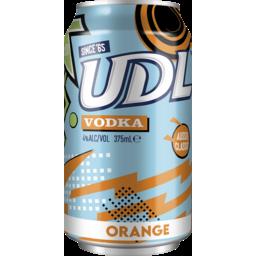 Photo of UDL Vodka & Orange Cans