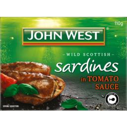 Photo of John West Sardines In Tomato Sauce 110g