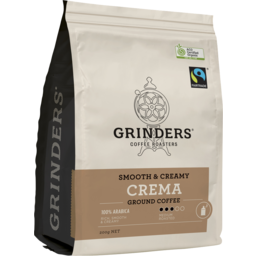 Photo of Grinders Coffee Master Roasters Crema 200g