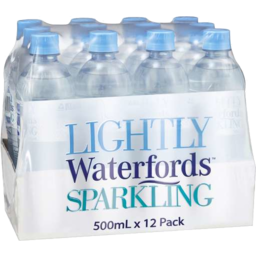Photo of Waterfords Lightly Sparkling 12x500ml