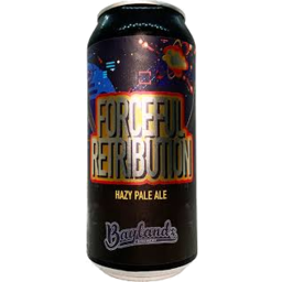 Photo of Baylands Forceful Retribution Hazy Pale Ale 440ml