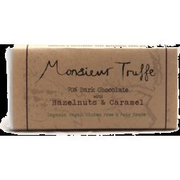 Photo of Monsieur Truffe 70% Dark Hazelnuts & Caramel Chocolate