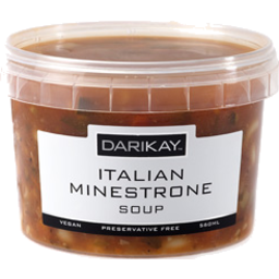 Photo of Darikay Italian Minestrone Soup 550g