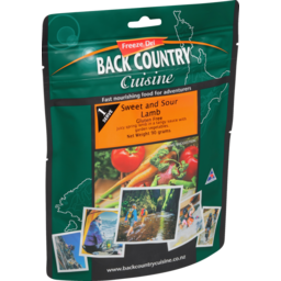 Photo of Back Country Cuisine Sweet & Sour Lamb Gluten Free One Serve 90g