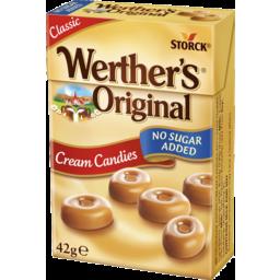 Photo of Werther's Original Cream Candies Minis No Sugar Added 42g