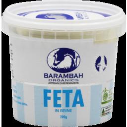 Photo of Barambah Feta Whole In Brine 200g