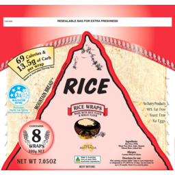 Photo of Mountain Bread Rice 200g