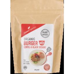 Photo of Ceres Organics Burger Mix Lentil & Black Sesame 320g