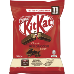 Photo of Nestle Kit Kat 11 Piece Fun Pack Milk Chocolate 185g
