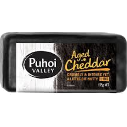 Photo of Puhoi Cheese Cheddar Aged 125g